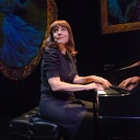 """Mona Golabek plays her mother, Lisa Jura in """"The Pianist of Willesden Lane"""" at the Hartford Stage and tells her story of escaping Nazi-riddled Vienna on the Kindertransport to pursue her dream of being a pianist. She also plays piano interludes throughout.  Credit: Hartford Stage"""